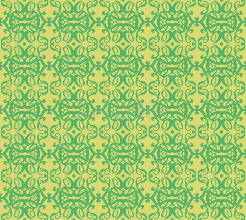 Seamless Repeat Elaborate Jacquard Pattern stock photo