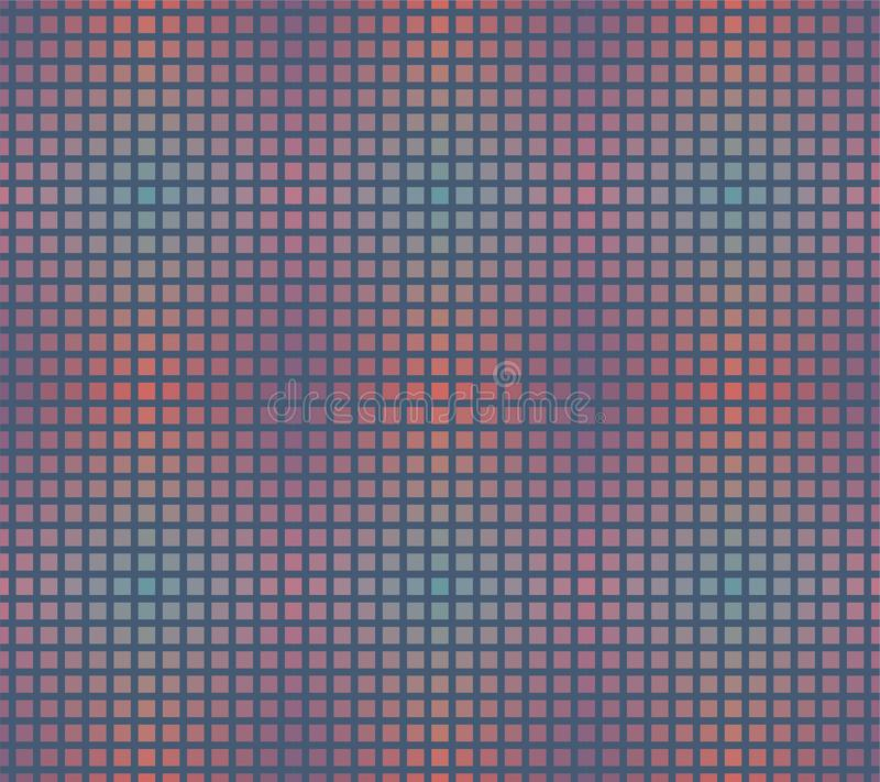 Seamless Repeat Pattern of Gradient Swatch Grid royalty free stock photo