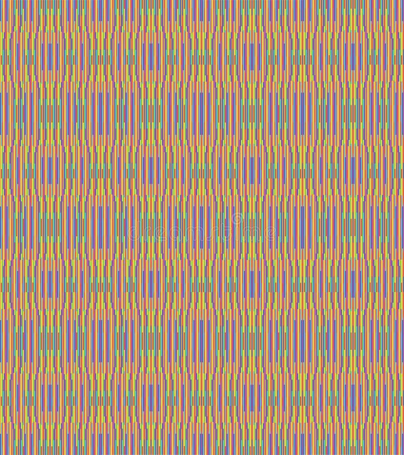 Seamless Repeat Rainbow Weave royalty free stock images