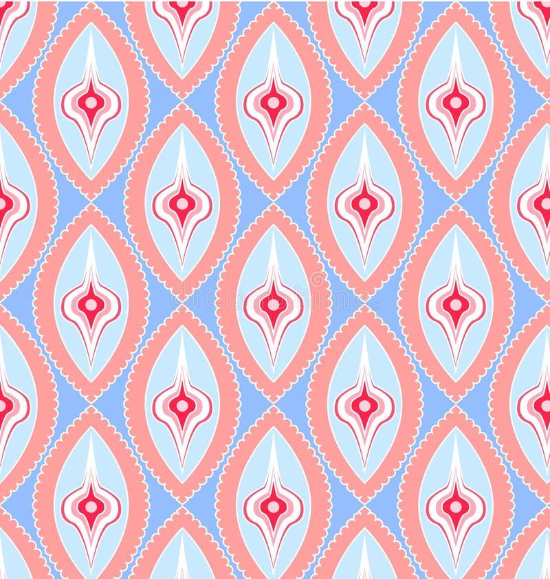 Retro seamless pattern vector illustration