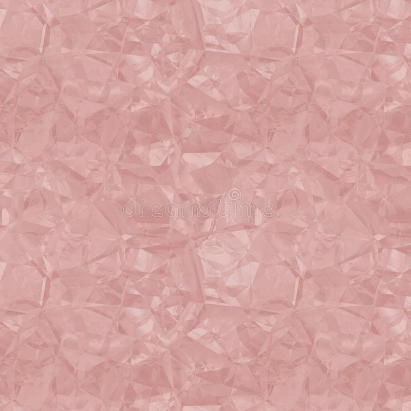 Seamless Repeating Crumpled Texture Tile 皇族释放例证