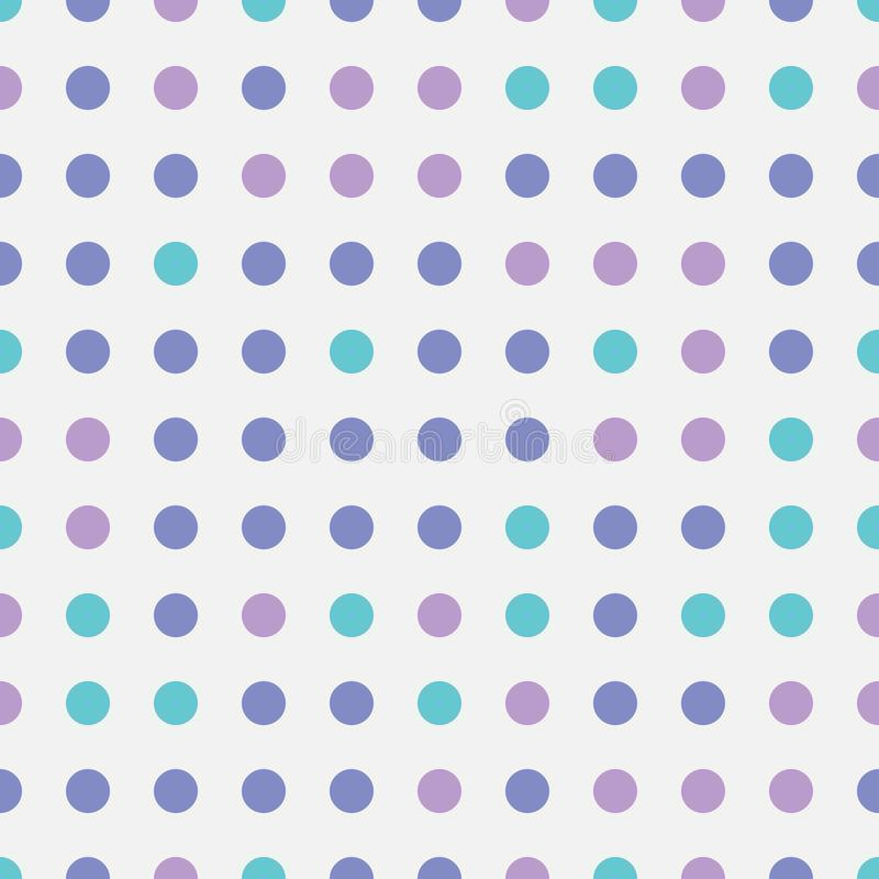 Seamless repeating pattern abstarct bright colorful circles shape on transparent background. Modern geometric vintage art. Fun. Kids fabric texture round design stock illustration