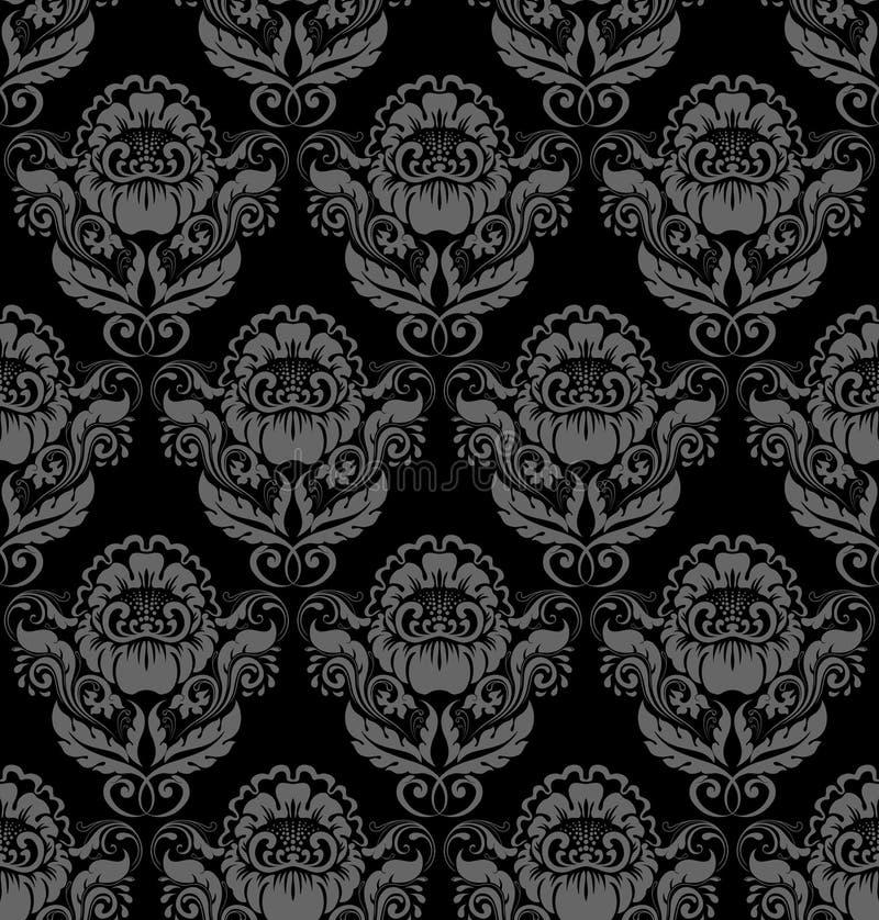 Download Seamless Retro Barocco Background Stock Vector - Illustration of backdrop, illustration: 15492357