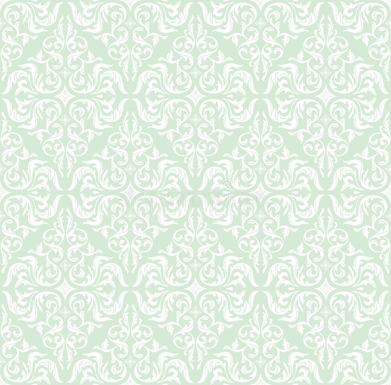 Free Seamless Retro Floral Background Royalty Free Stock Photography - 22109877