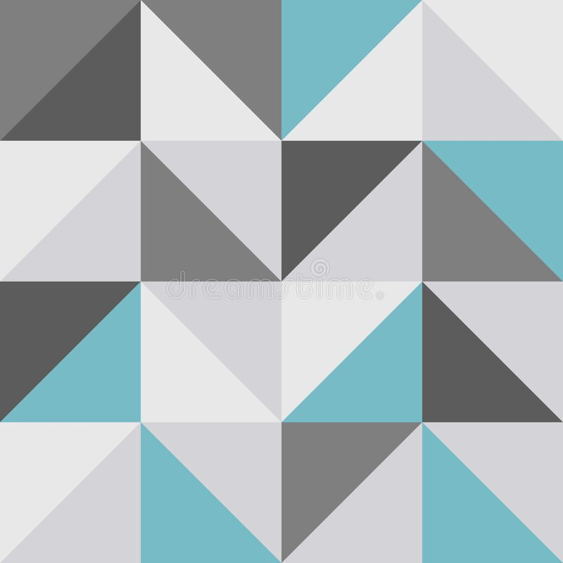 Seamless retro pattern, editable colors in vectors royalty free stock photography