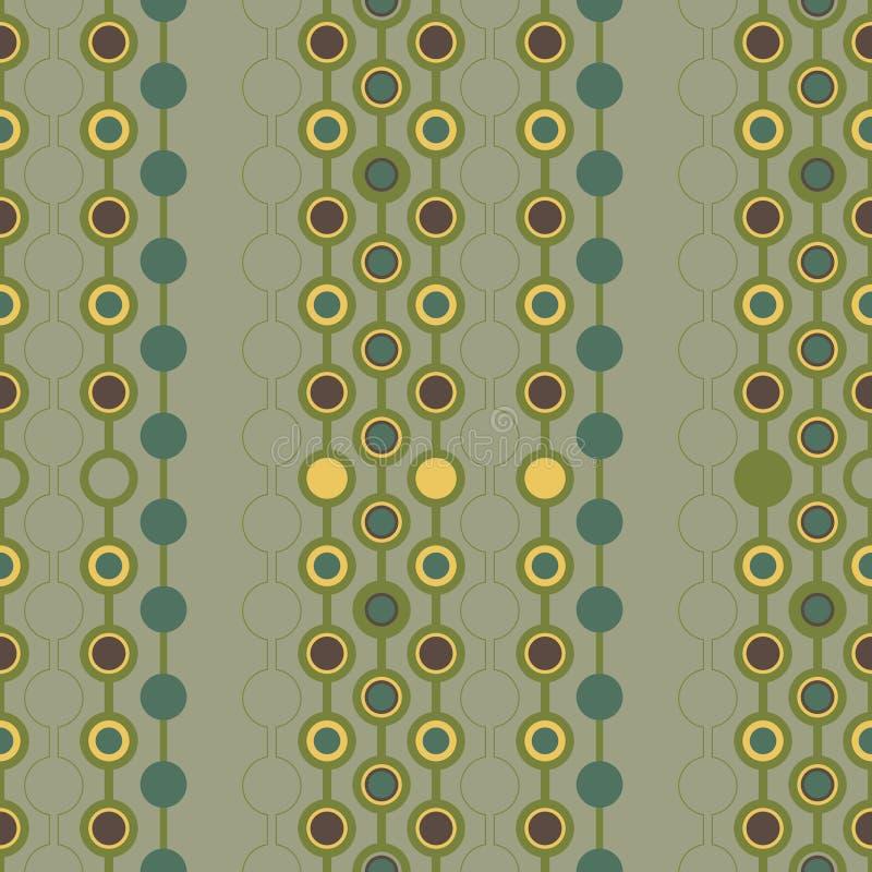 Download Seamless retro wallpaper stock vector. Image of design - 22304910