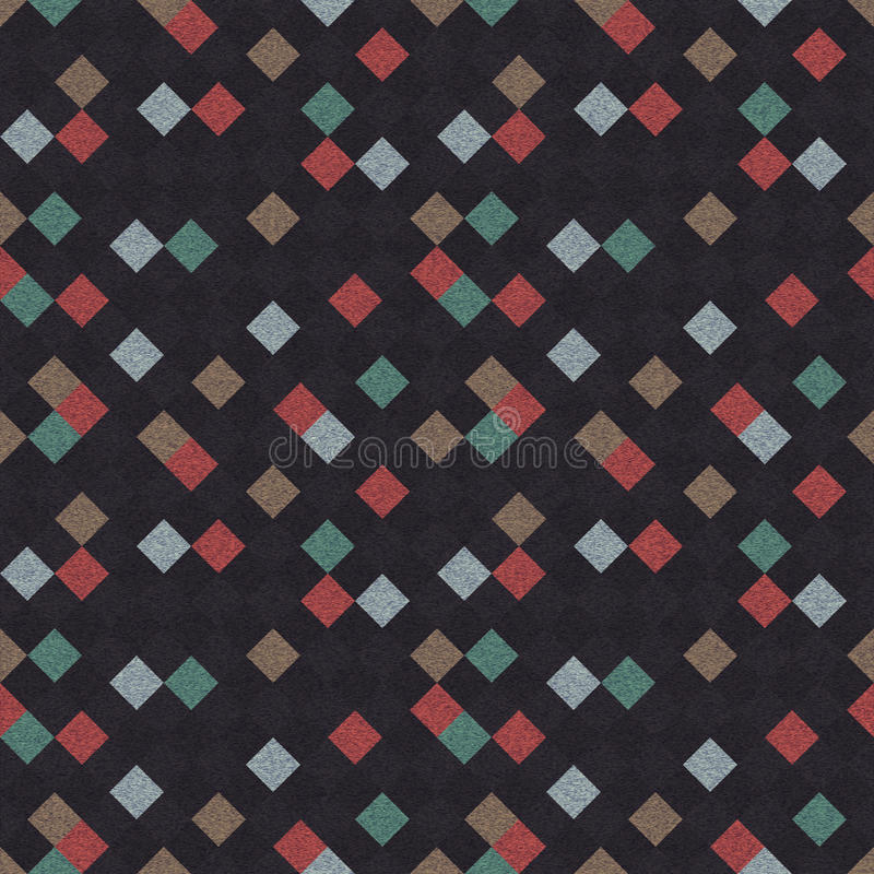 Seamless Rhomb Pattern Stock Photography