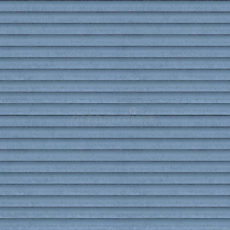 Seamless Roller Shutter Texture. Seamless bluish grey roller shutter background texture stock photo