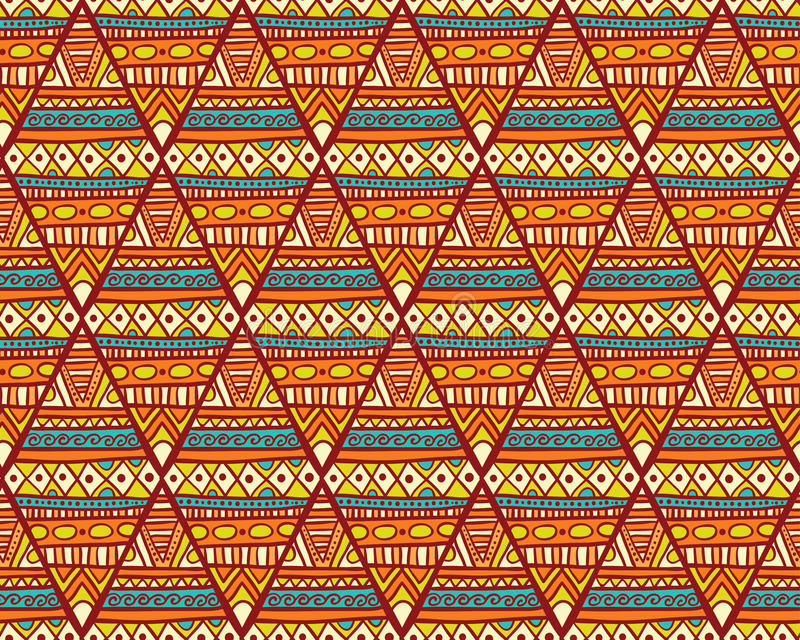 Download Seamless Romb Ethno Pattern Stock Vector - Image: 50368014
