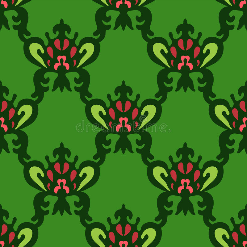 Download Seamless Royal Vector Pattern Stock Images - Image: 34709434