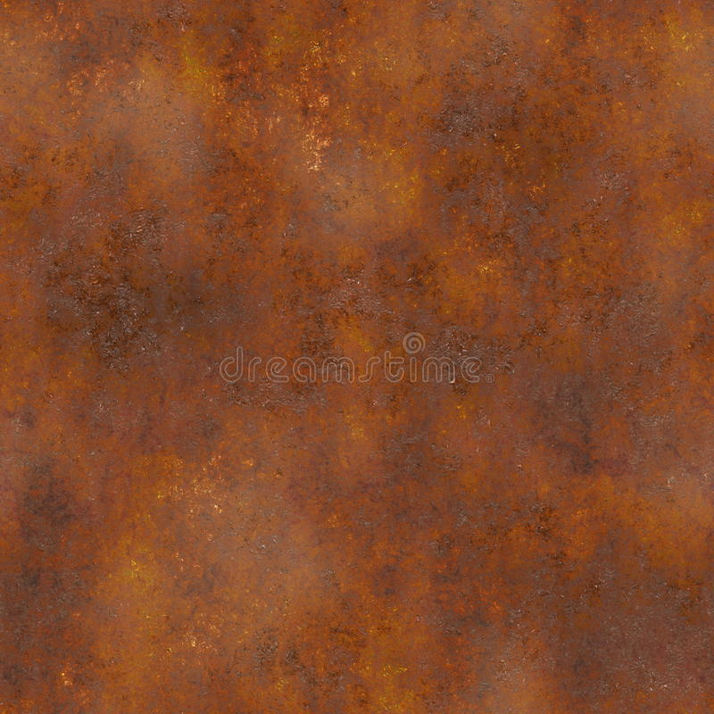 Free Seamless Rust Texture Stock Photography - 12659242