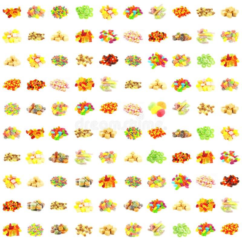 seamless sötsaker för modell royaltyfria bilder
