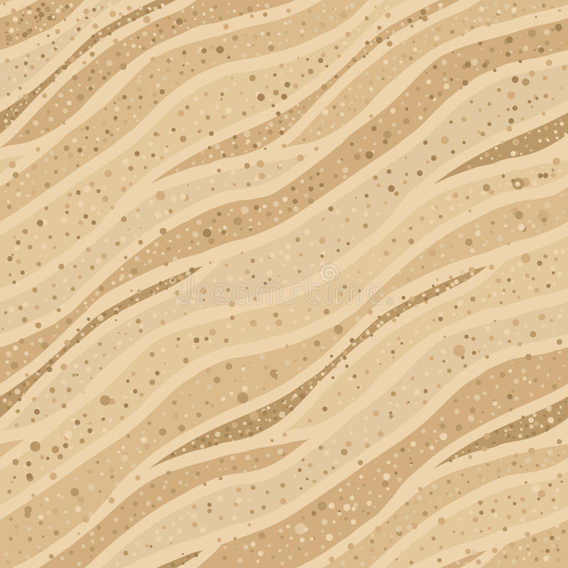 Seamless sand texture royalty free illustration