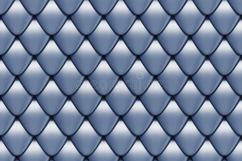 Seamless scales texture royalty free illustration