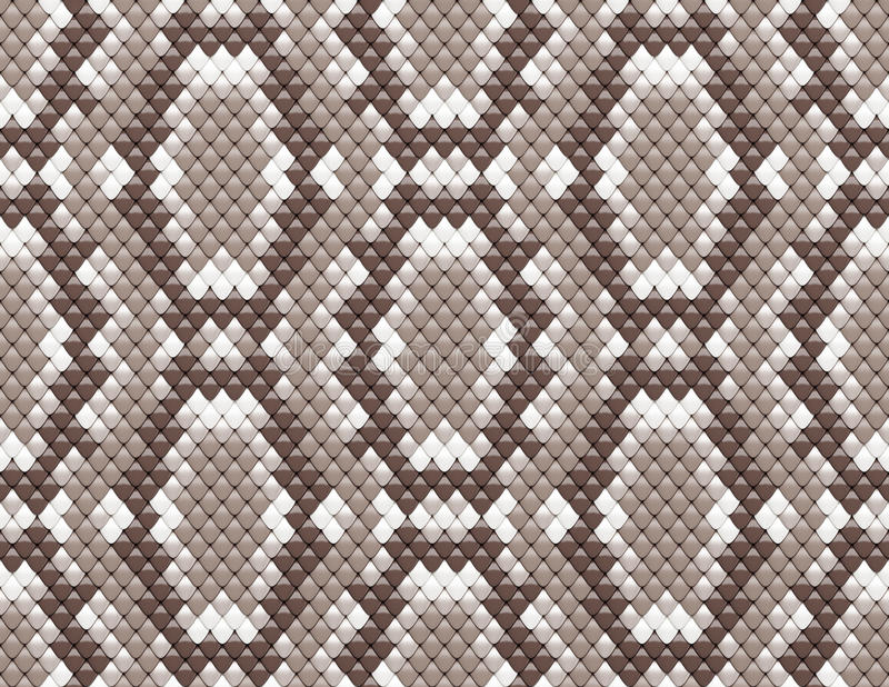 Seamless scales texture vector illustration