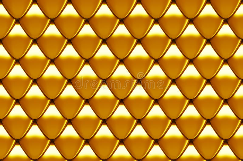 Seamless Scales Texture Stock Images