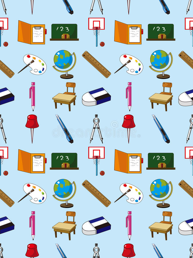 Download Seamless School Element Pattern Stock Photos - Image: 28170103