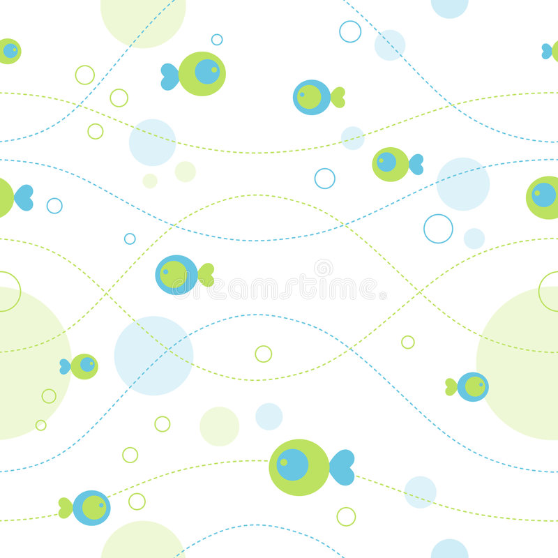 Download Seamless sea pattern stock vector. Illustration of beauty - 4816566