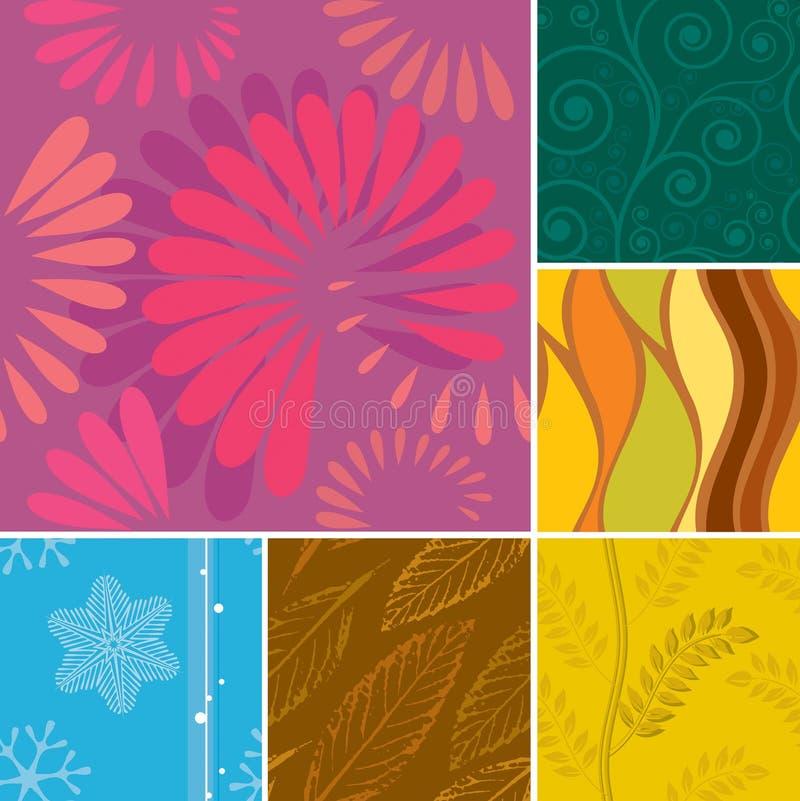 Download Seamless Season Pattern Royalty Free Stock Photos - Image: 10187258