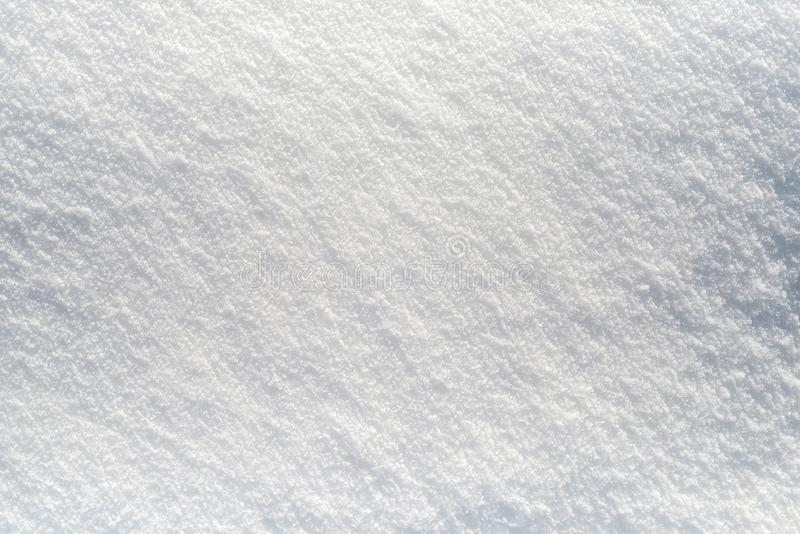 Clean Snow - white snow background royalty free stock images