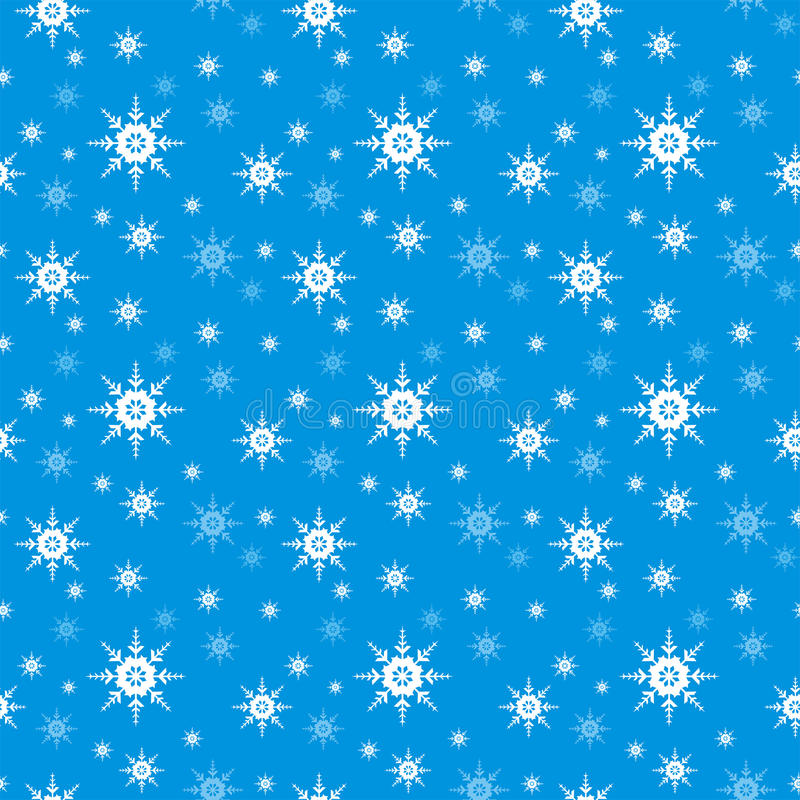 Download Seamless Snowflake  Background Stock Vector - Illustration of patterns, drawings: 22040637