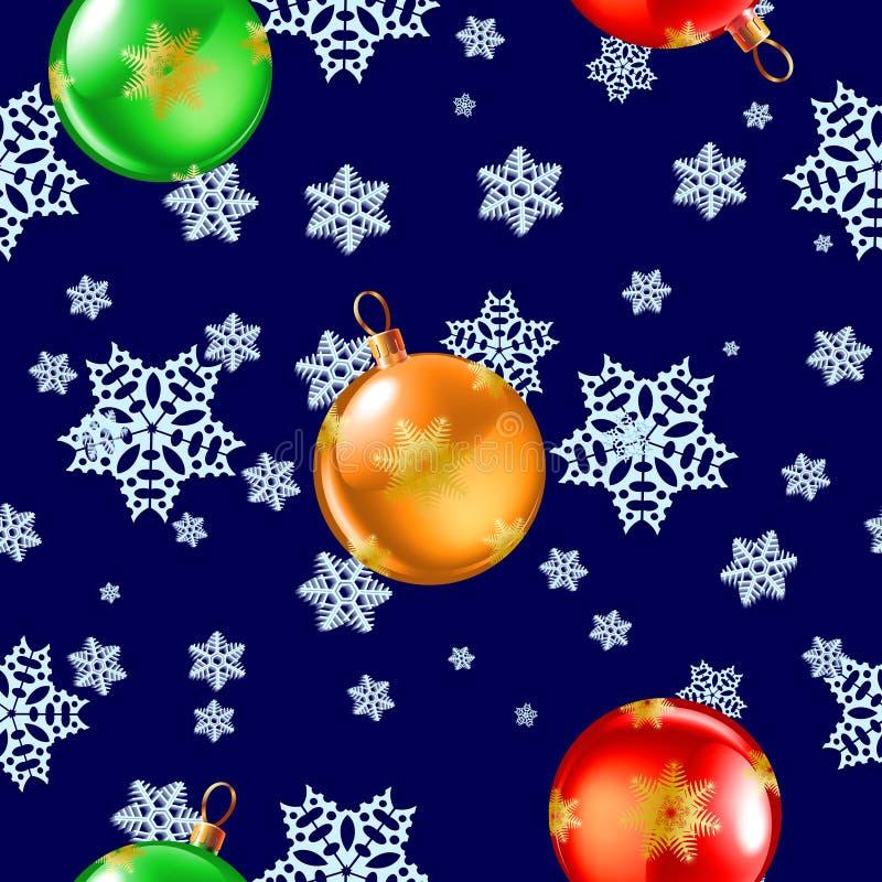 Download Seamless snowflake pattern stock illustration. Illustration of holiday - 34265096