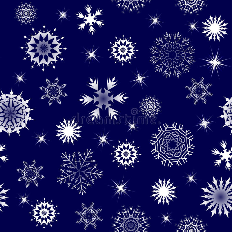 Download Seamless Snowflakes Royalty Free Stock Image - Image: 11533136