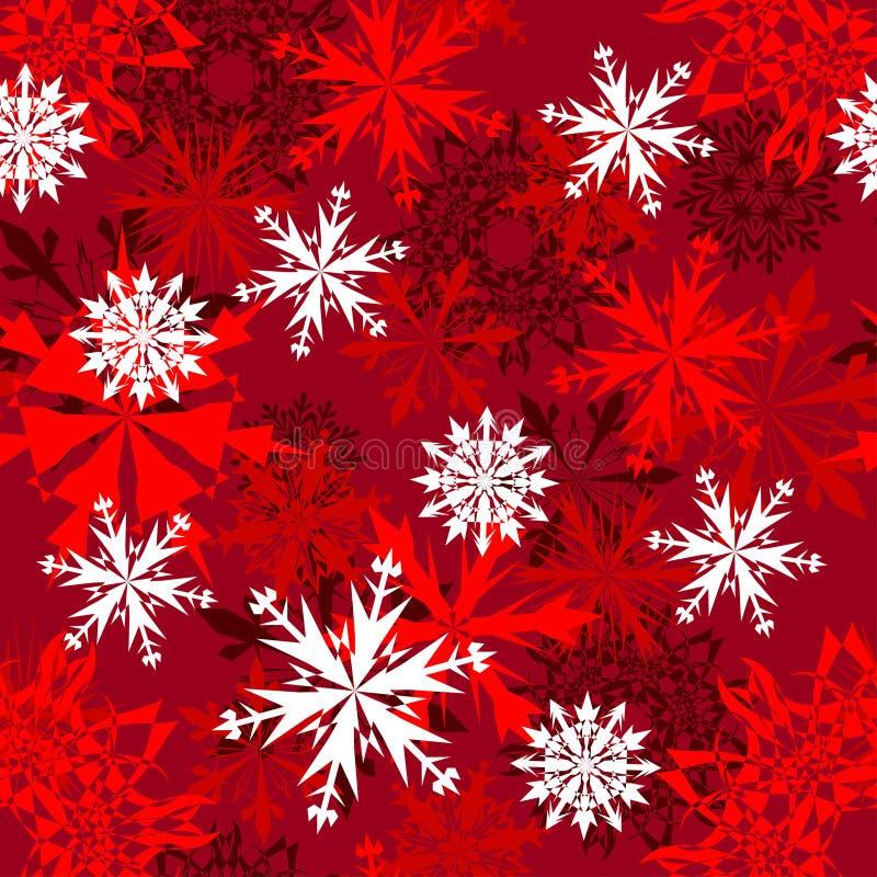 Seamless snowflakes background royalty free stock photos