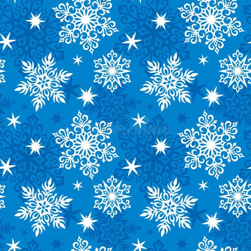 Download Seamless Snowflakes Pattern Stock Image - Image: 12138191