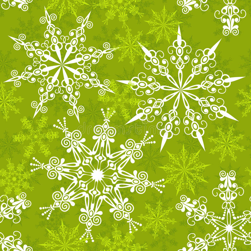 Download Seamless Snowflakes Pattern, Stock Vector - Image: 16735116