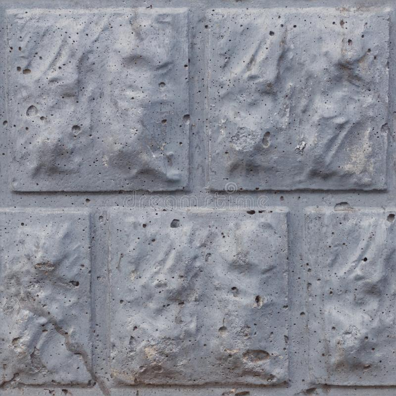 Free Seamless Soft Focus Texture Of Decorative Concrete Wall From Bricks Royalty Free Stock Images - 155012239
