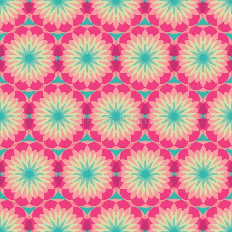 Seamless spirograph geometric texture background pattern royalty free stock photo