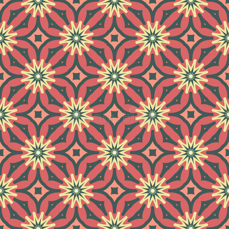 Seamless spirograph geometric texture background pattern royalty free stock images