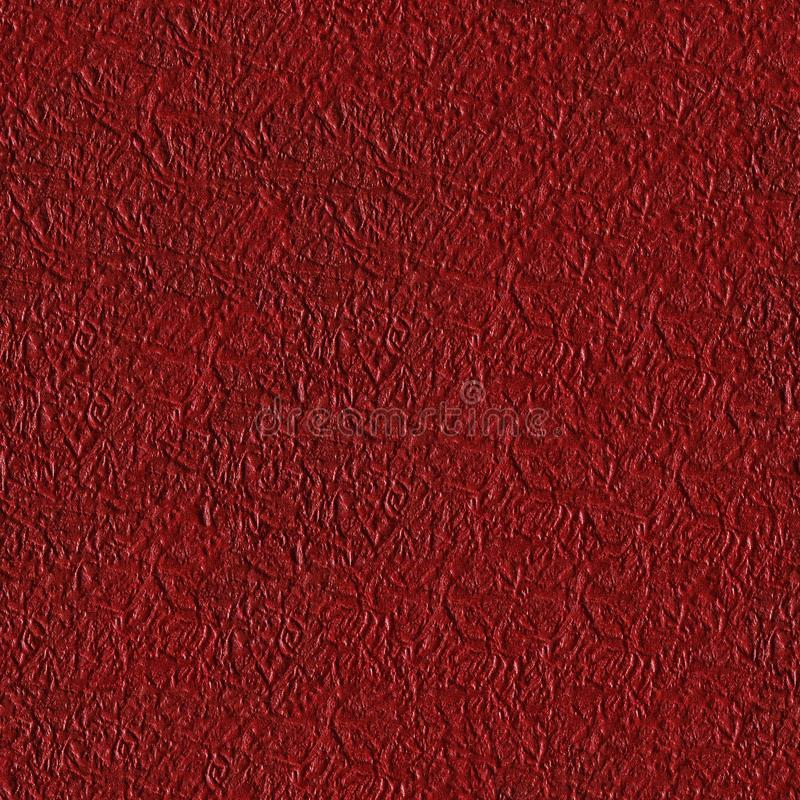 Seamless square texture. Red paper texture, can be used as background. Tile ready. royalty free stock photos
