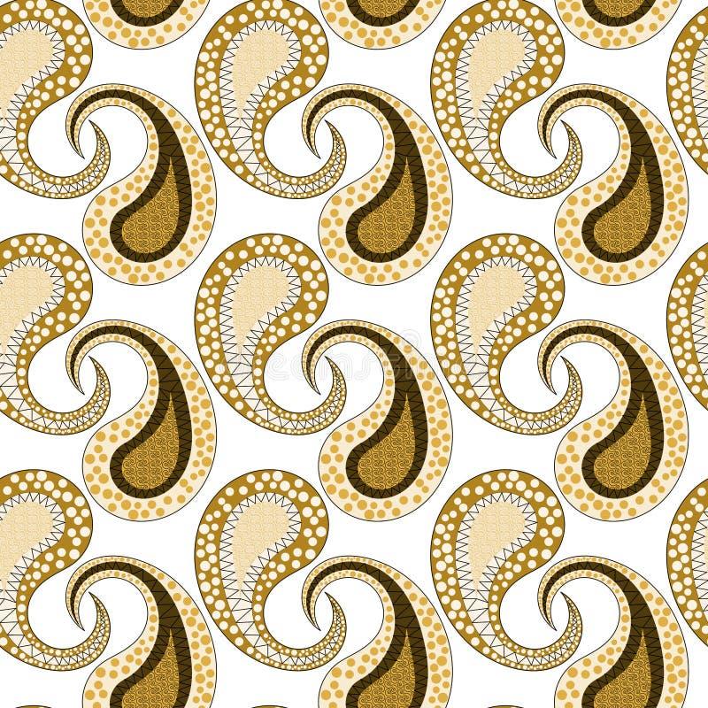 Seamless stam- mönstrar lämnar skelett royaltyfri illustrationer