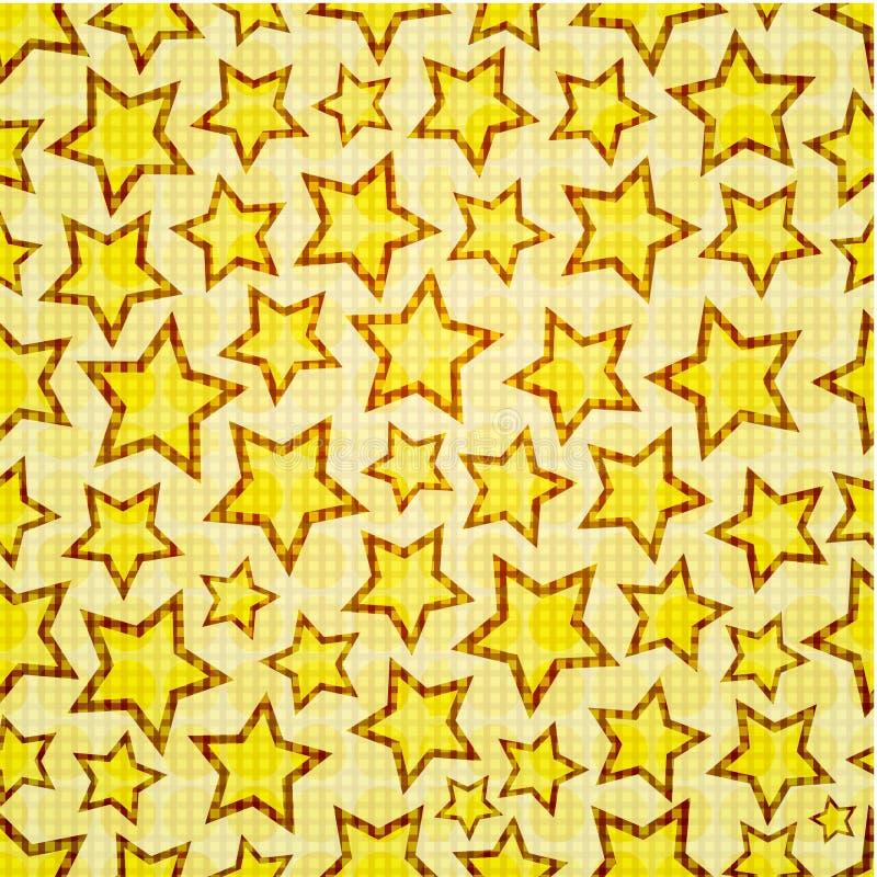 Seamless stars royalty free illustration