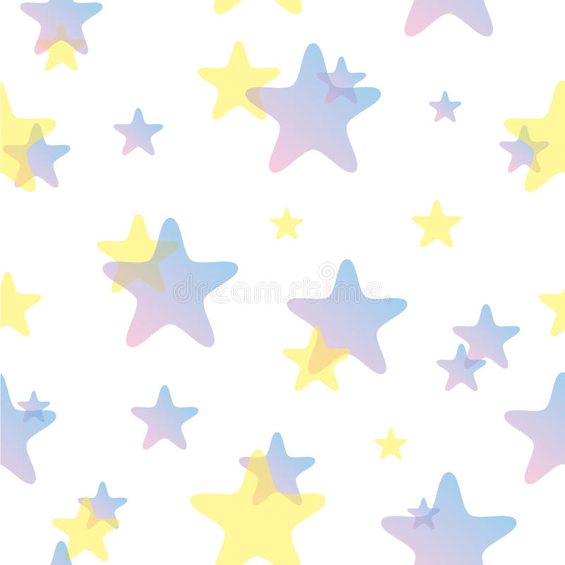 Download Seamless Stars Pattern stock vector. Image of fantasy - 25745593