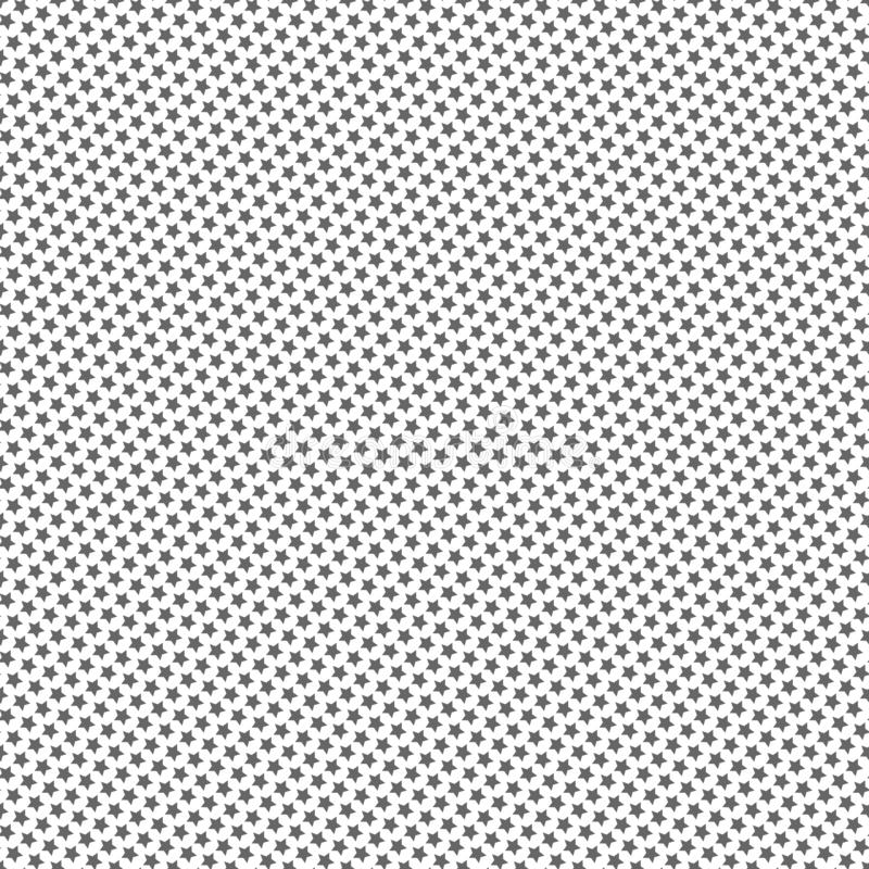 seamless stjärnor för modell Geometrisk textur och bakgrund royaltyfri illustrationer
