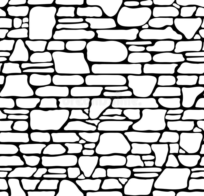 Download Seamless Stone Texture Stock Vector Illustration Of