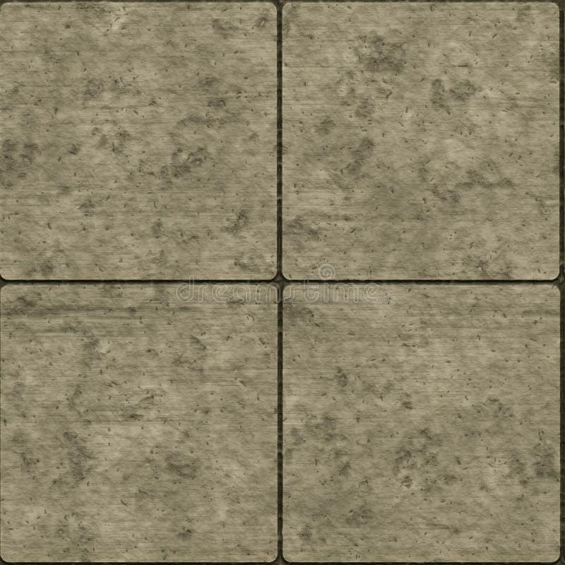 Seamless Stone Tiles Stock Image