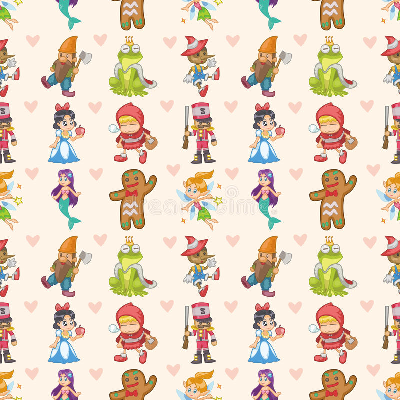 Download Seamless Story People Pattern Stock Vector - Image: 28072195