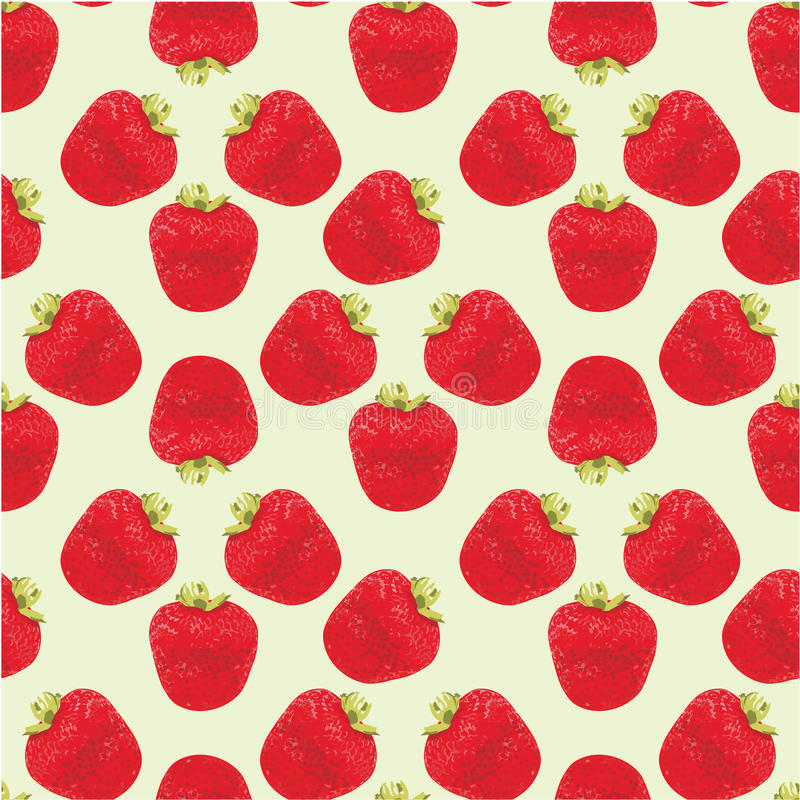 Download Seamless Strawberries Pattern Stock Vector - Illustration: 22574473