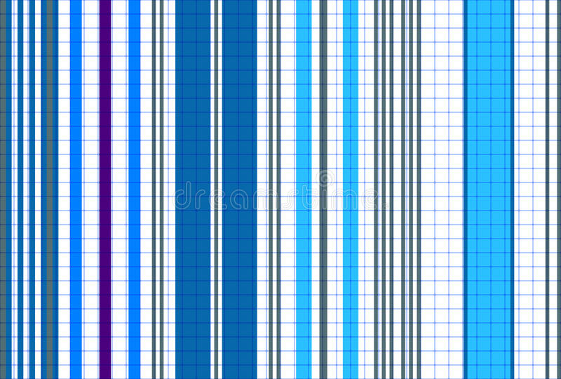 Seamless striped blue pattern royalty free stock photos