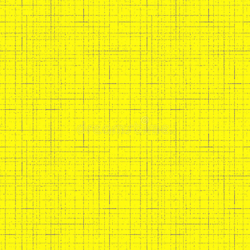 Seamless striped pattern. Grunge lines and scratches on yellow background royalty free illustration