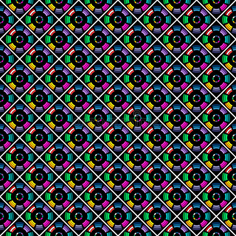 Download Seamless Stylish Multicolor Pattern. Stock Vector - Image: 17438058