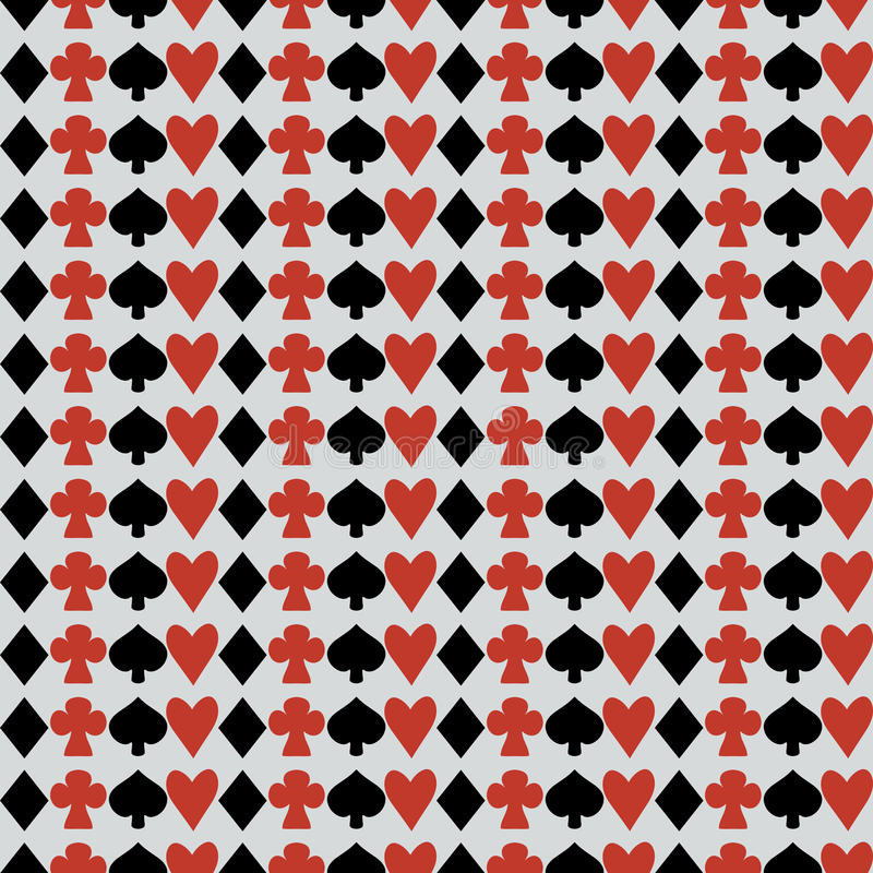 Seamless Suits from Wonderland World. Suits from Wonderland World. Seamless Vector Texture Can Be Used for Wallpapers, Pattern Fills, Web Page Backgrounds vector illustration