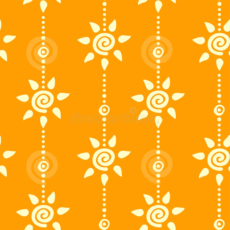 Seamless Sunny Background Stock Photography