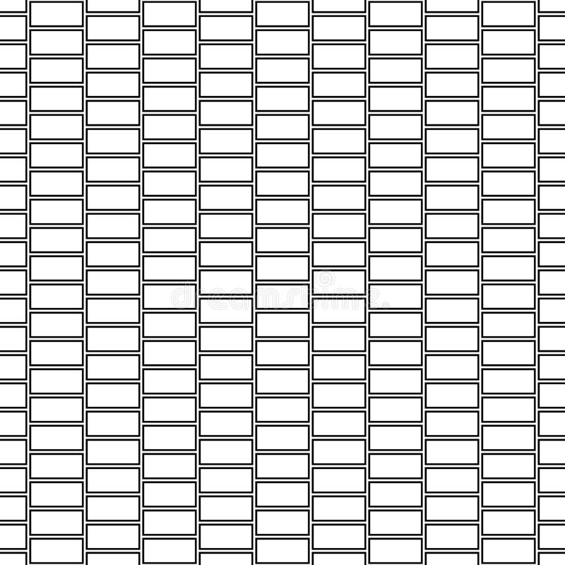 Seamless surface pattern design with blocks. Bricks cladding wall. Rectangle slabs tessellation image. Stones ornament. Seamless surface pattern design with stock illustration