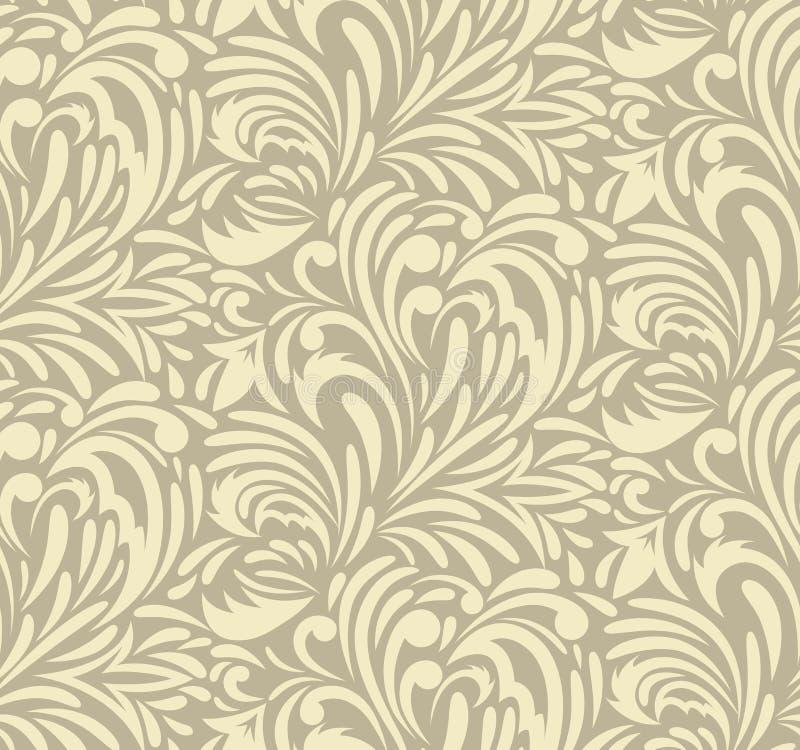 Free Seamless Swirl Pattern Royalty Free Stock Photo - 27076745