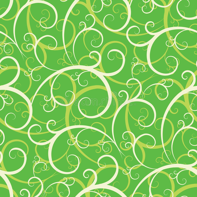 Download Seamless Swirly Wallpaper Royalty Free Stock Photos - Image: 2315318
